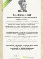 Invitacion Catedra Marechal en CABA 27 de marzo de 2015