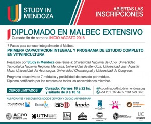 Study in Mendoza - Aviso Extensivo 2016 - MARINO