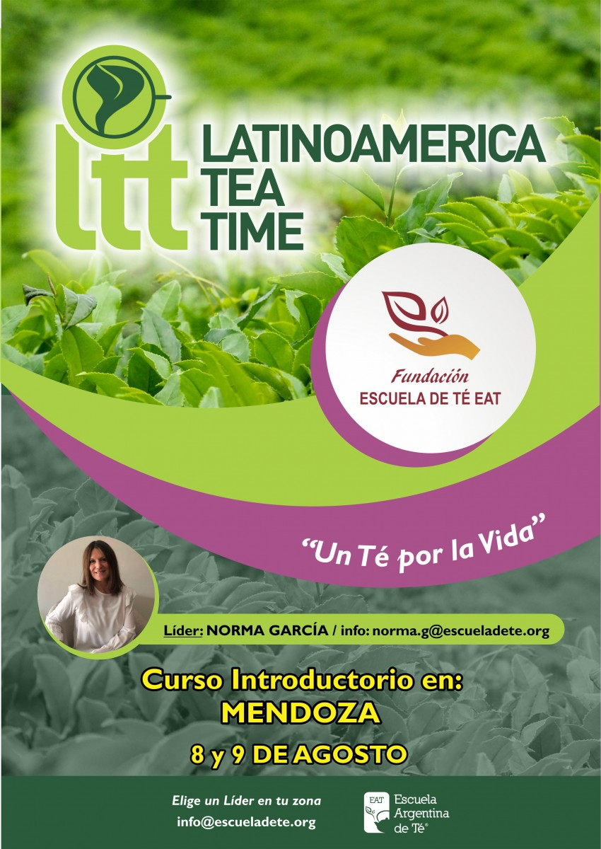 Latinoamerica Tea Time flyer NORMA GARCIA