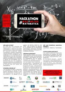 hackathon matemática -  AGO 16 jpg flyer